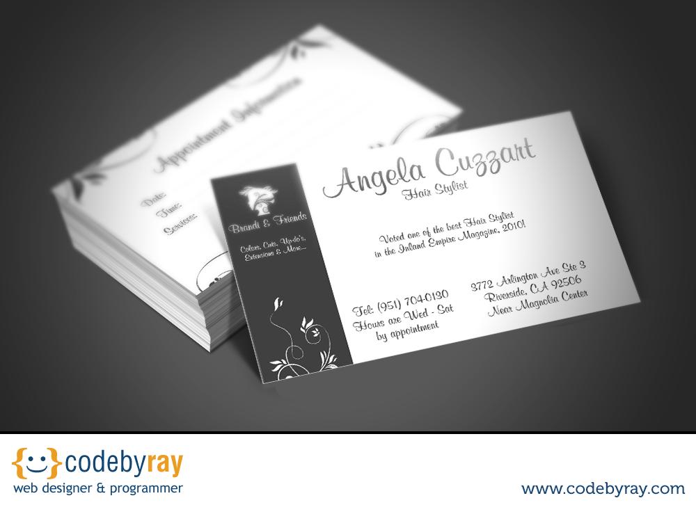 Business Card Design Service Codebyray